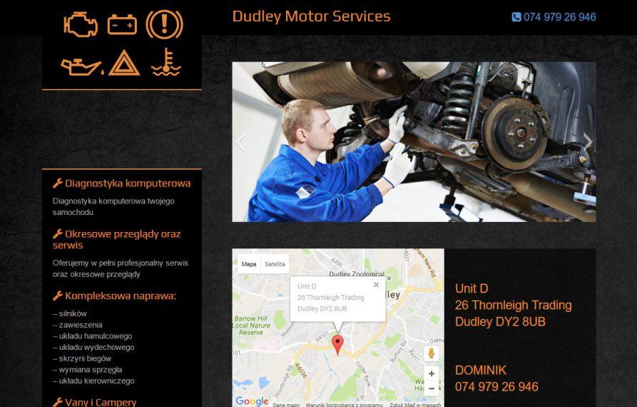 Warsztat Samochodowy w UK