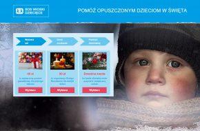 Kampania świąteczna Wioski SOS