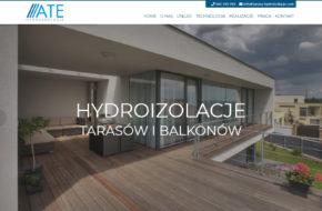 Hydroizolacje tarasów i balkonów